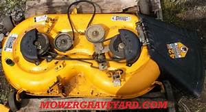 Cub Cadet     Lawn Mower Grave Yard Equipment Used Tractor Parts Salvage