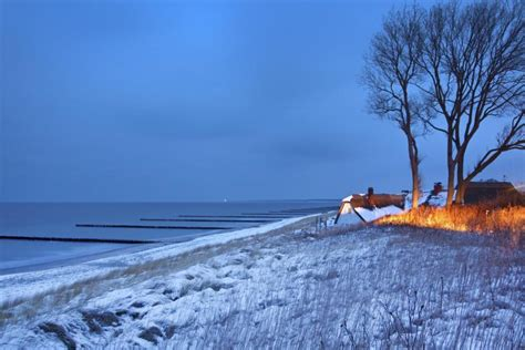 Haus In Den Dünen by Ostsee Im Winter Geh 246 Rt Der Strand Auf Dem Dar 223 Ihnen
