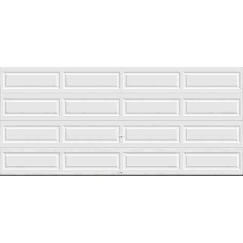 16 x 9 insulated garage door clopay premium series 16 ft x 7 ft 12 9 r value