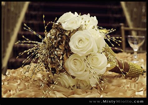 Wedding Bouquet All That Glitters Is Gold Great