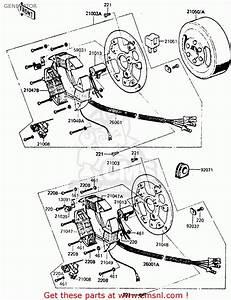 Kawasaki 1984 G5  Kh100 Generator