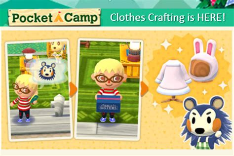 animal crossing pocket camp update guide   craft