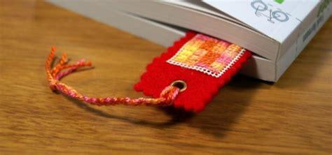 weihnachtsgeschenke für eltern selber machen lesezeichen selber machen last minute geschenk aus stoff utopia de