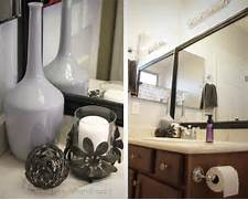 Bathroom Decorations by Fit Crafty Stylish And Happy Guest Bathroom Makeover