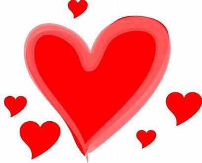 Heart Shape Shaped Apple Behind Sort Symbol