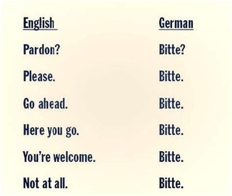 German Language Bitte Funny Meaning Multiuse Joke Lol  Giggles  Pinterest  Language, Jokes