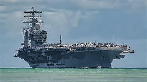 Portaerei Nimitz by Uss Nimitz Cvn 68 Arrives At Pearl Harbor Hawaii