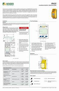 Installation Bulletin  Ir425