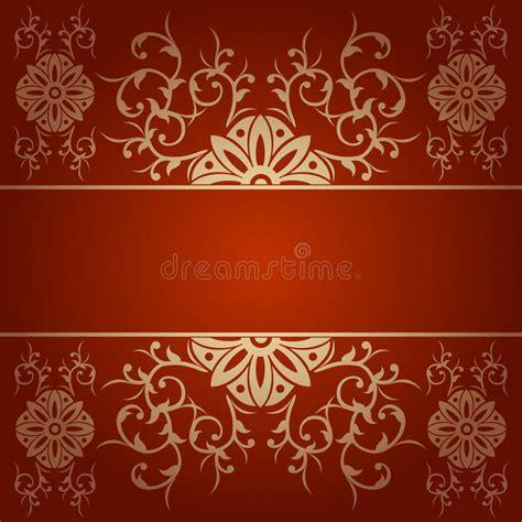 baroque powerpoint template free barok bloemen vectorrood als achtergrond vector