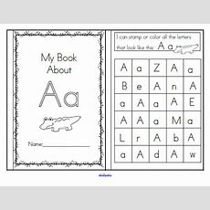 Alphabet Recognition Activities  26 Booklets  106 Pages