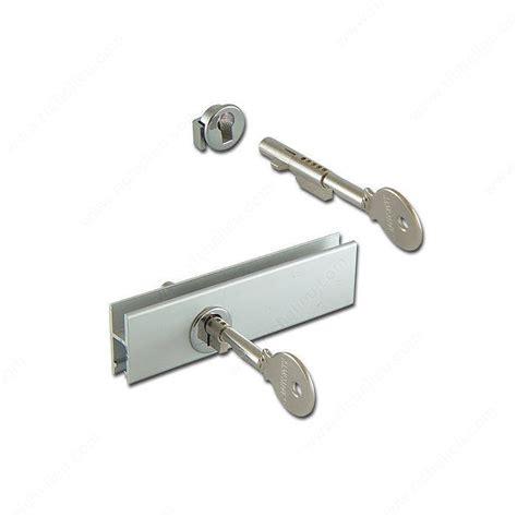 glass cabinet door locks cabinet sliding glass door lock for glass rail richelieu