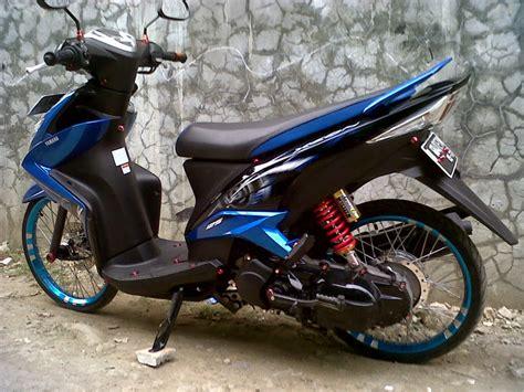 Modifikasi Mio J by Modifikasi Yamaha Mio Fino Velg 17 Thecitycyclist