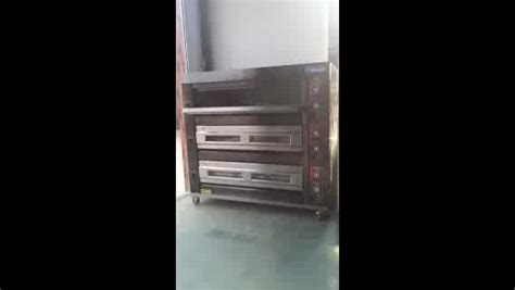 bread ovenbakery  gaselectric deck oven deck