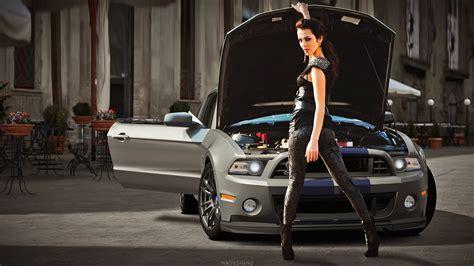 Car, Shelby Gt500 Super Snake, Women, Wheels, Fast Cars