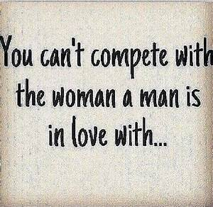 You can't c... Compete Love Quotes
