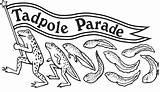 Tadpole Drawing Parade Hale Getdrawings sketch template