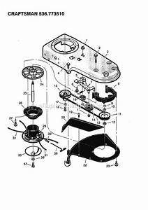 Craftsman 536773510 Parts List And Diagram