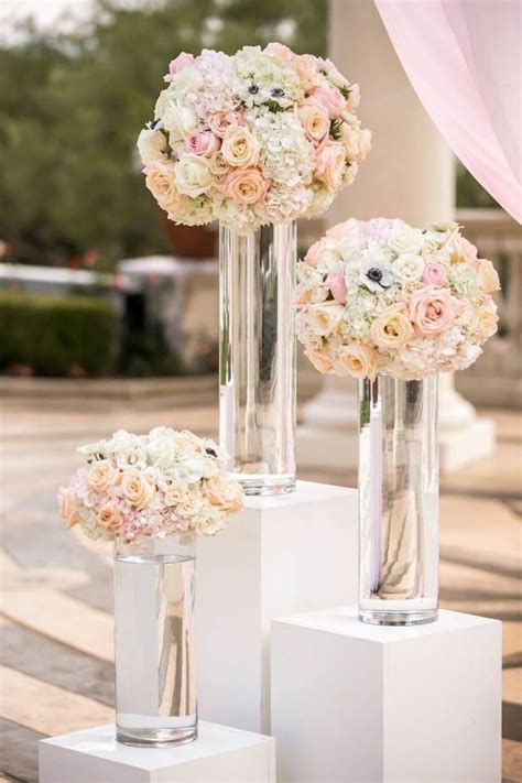 good wedding ceremony flower arrangements altar wedding