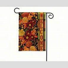 Breeze Art Welcome Fall Garden Flag 31047 Home Decor