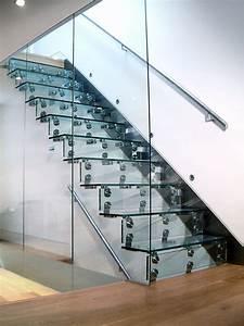 Cantilever Glass Staircase – John Horton Design & Manufacture