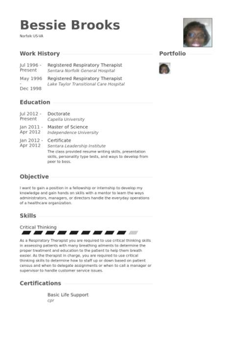 respiratory therapist resume aba therapist resume sales