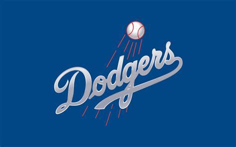 mlb los angeles dodgers logo  wide mlb baseball