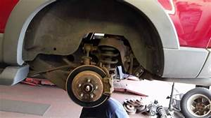 2006 Ford Explorer Rear Axle Removal