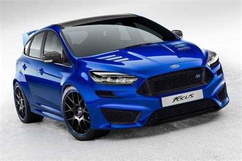 Confirmed....2016 Ford Focus Rs Will Come With Awd