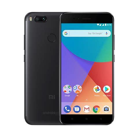 xiaomi mi a1 garansi indonesia jual xiaomi mi a1 smartphone black 64gb 4gb