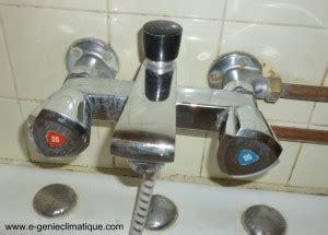 bain de siege eau froide plomberie changement tête céramique d 39 un robinet mélangeur