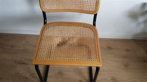 breuer stoel zitting rotan zitting repareren werkspot
