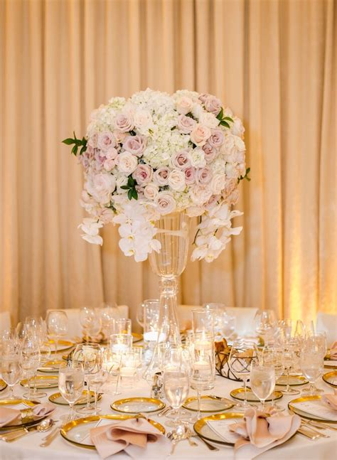 Events by Robin Blush wedding centerpieces Blush