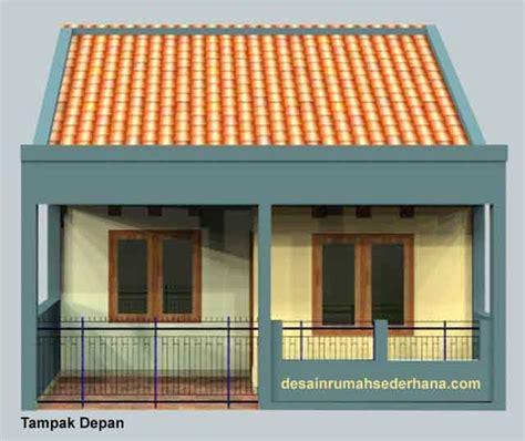 desain rumah sederhana kpr btn type