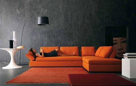 canape orange comment acheter un canapé cuir orange pas cher canapé