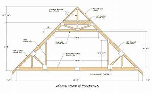 medeek design inc truss gallery With 40 ft truss plans