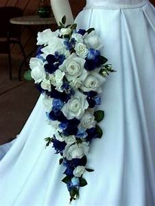 Wedding Flowers: Blue Wedding Bouquets