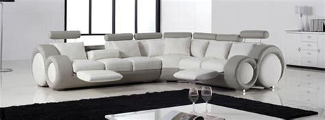 canapé d angle arrondi cuir canapé d 39 angle design