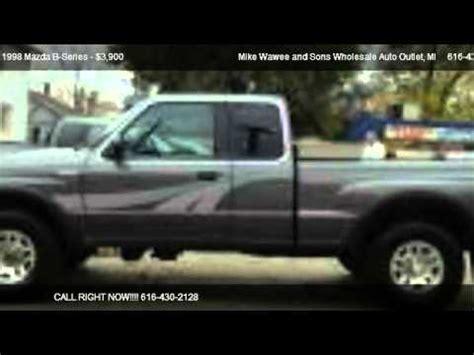 how to work on cars 1998 mazda b series windshield wipe control 1998 mazda b series b4000 se cab plus 4wd for sale in grand rapids mi 49504 youtube