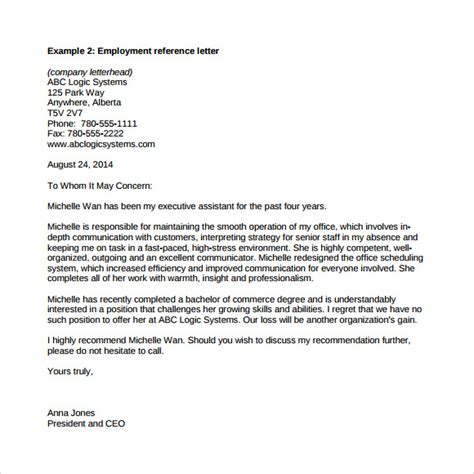 exle letters of recommendation exle reference letter exle of reference letter reference 39603