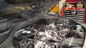 Merecedes Ml350 W166 Bluetec Oil Change  Engine Air Filter