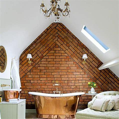 Kleines Bad Ideen  Dachschräge Mit Badewanne Badezimmer