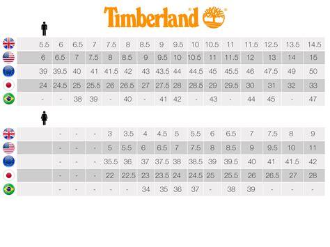 Timberland Boat Shoes Size by Timberland Boots Size Chart Sizing Chart Ayucar
