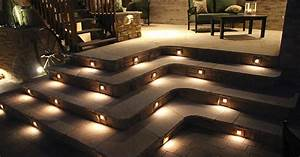 low voltage concrete step lights lighting effects With low voltage outdoor lighting for steps