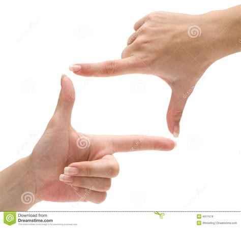 a frame plans finger frame stock images image 4911574