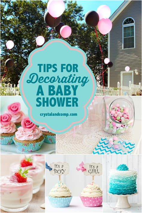 baby shower ideas for to be tips for decorating a baby shower crystalandcomp