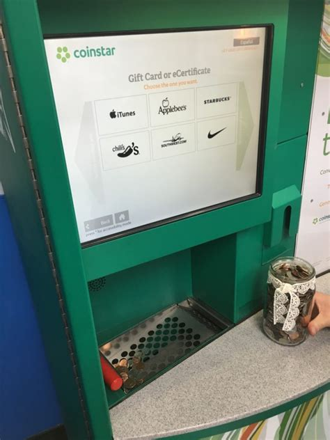 Come by your local check into cash store today and sell your unwanted plastic for cash. Lessons Learned at the Coinstar Machine