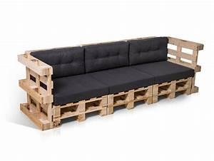 Polstergarnituren 3 2 1 Sitzer : paletti 3 sitzer sofa aus paletten natur ~ Indierocktalk.com Haus und Dekorationen