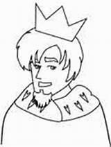 Coloring King Arthur Queen Ws sketch template