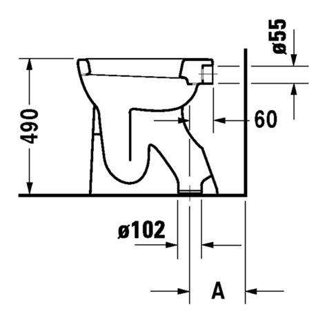 stand wc spülrandlos abgang senkrecht duravit duraplus stand wc sudan 360 x 505 mm flachsp 252 ler mit abgang senkrecht wei 223 wondergliss