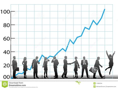 business team chart company growth stock images image